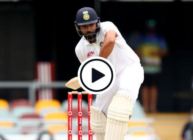 Watch: 'Classic Cummins wicket' - Rohit Sharma falls early to a peach