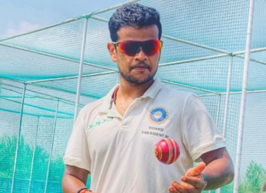 Who is Saurabh Kumar, the net bowler in India's extended squad for the England series?
