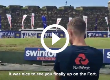 Watch: Joe Root thanks fan who waited in Sri Lanka for 10 months to watch Test series