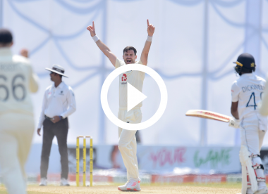 Watch: James Anderson claims his 30th Test five-for