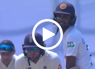 Watch: 'Come on, Chandi, throw your wicket away' – Root's sledge precedes Chandimal's downfall