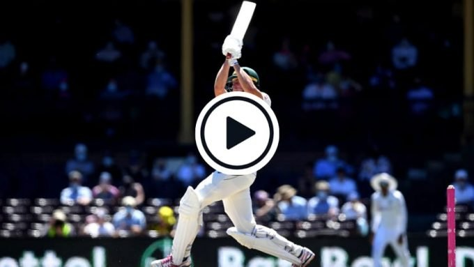 Watch: Cameron Green smashes four sixes in ballistic new-ball blitz