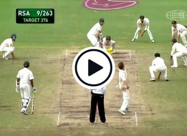 Watch: The Graeme Smith example Ravindra Jadeja might need to follow
