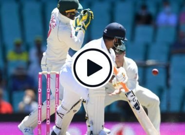 Watch: Tim Paine drops Rishabh Pant twice