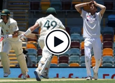 Watch: Ajinkya Rahane drops Marnus Labuschagne at gully