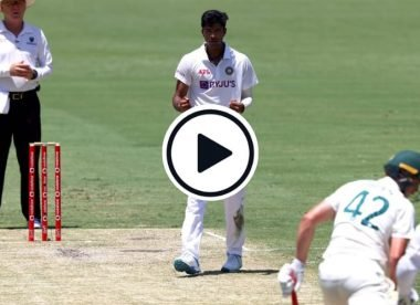 Watch: Washington Sundar turns one the other way