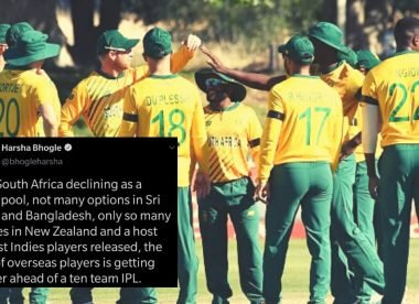 'Get rid of your blinkers' - Harsha Bhogle's 'declining talent pool' tweet upsets South Africa fans