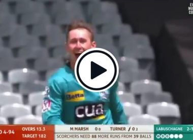 Watch! Marnus Labuschagne cleans up Ashton Turner with a peach