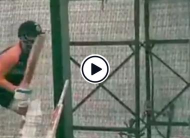 Watch: Virat Kohli hilariously imitates Steve Smith in the nets