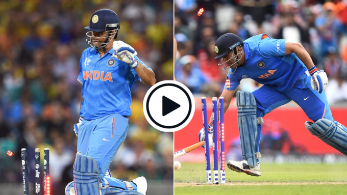 Watch: The 2015 Dhoni run-out identical to 2019 that dashed India's World Cup hopes