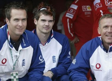The five oldest cricketers James Anderson played international cricket with