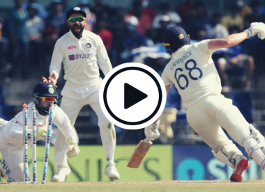 Watch: Pant completes fine stumping after Ashwin 'nutmegs' Lawrence