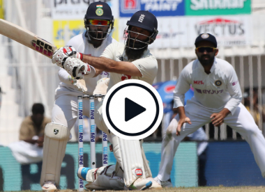 Watch: 6,6,6,6,6 - Moeen Ali's six-filled cameo threatens world record