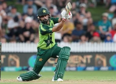 Why was Mohammad Hafeez omitted from Pakistan's T20I squad?
