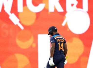 Sanju Samson's omission from the T20I side is a step backwards