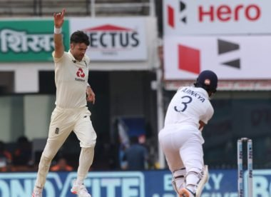James Anderson provides the inside story of his double-wicket over