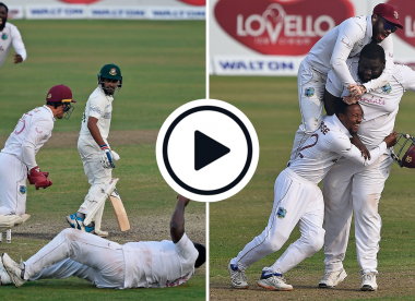 Watch: The moment West Indies sealed a Test series win for the ages