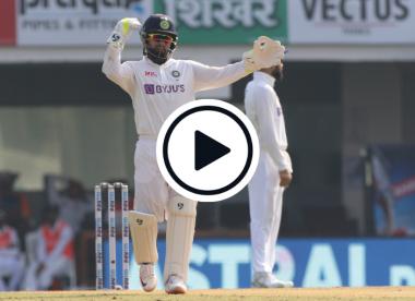 Watch: Rishabh Pant's relentless pep talk behind the stumps
