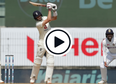 Watch: Joe Root brings up double hundred with glorious six off Ashwin