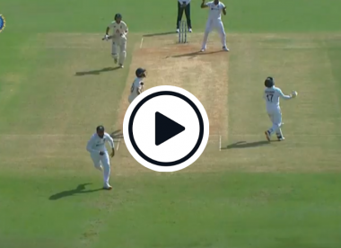 Watch: Rishabh Pant left searching for the ball in comical moment
