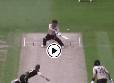 Watch: James Neesham pulls off 'ridiculous' reverse ramp six