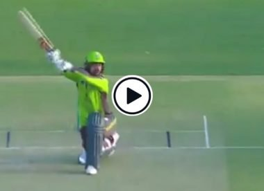 Watch: Rashid Khan pulls off unusual 'helicopter' version of sweep shot