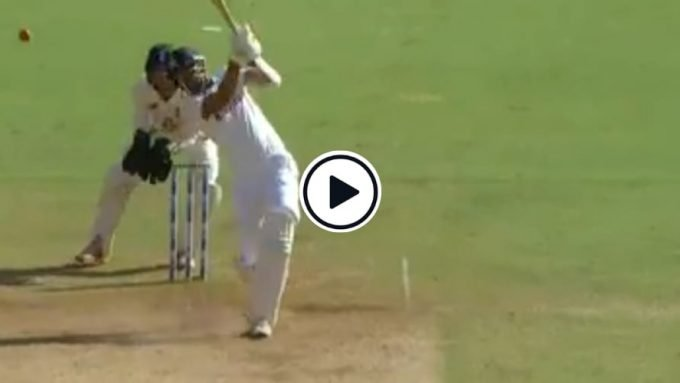 Watch: After 2677 balls, 194 matches, and 14 years, Ishant Sharma hits his first six for India