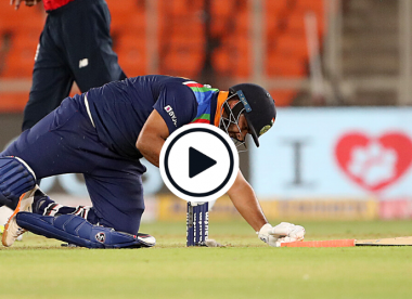 Watch: Rishabh Pant run out in comical circumstances after Buttler fumble