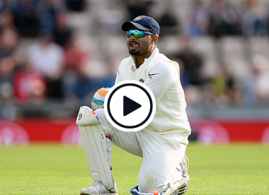Watch: Rishabh Pant howls weirdly behind the stumps, yet again