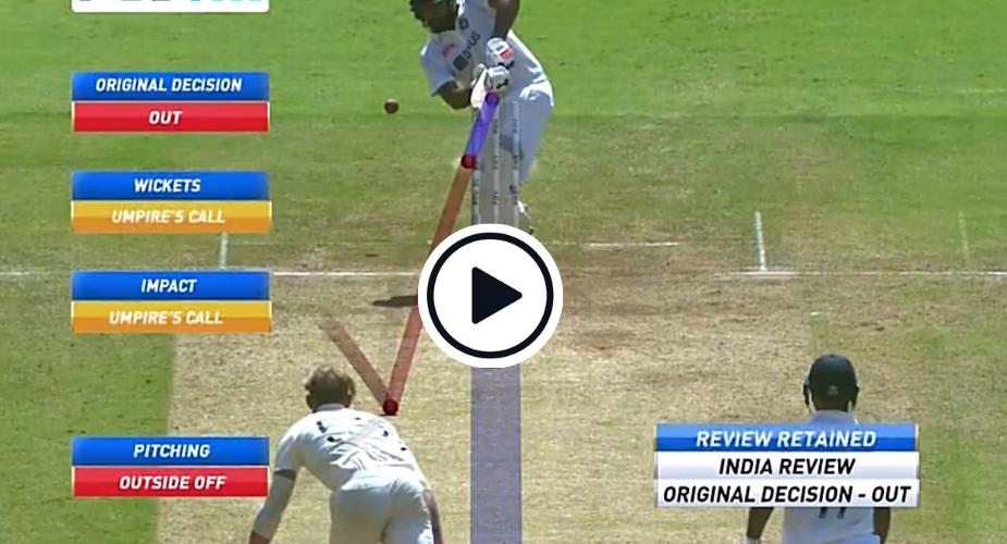 rohit sharma umpire's call
