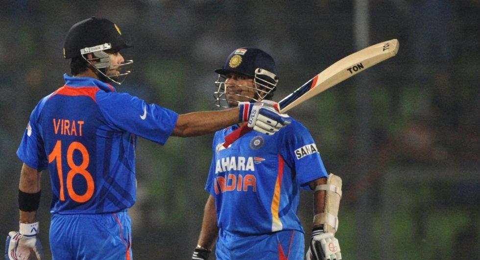 India ODI fifties kohli sachin