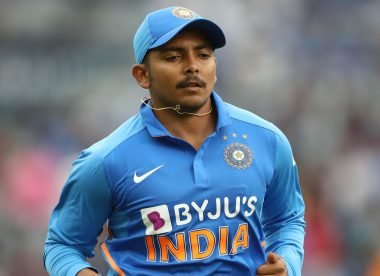 Leaving Prithvi Shaw in the wilderness risks pushing him in the wrong direction again