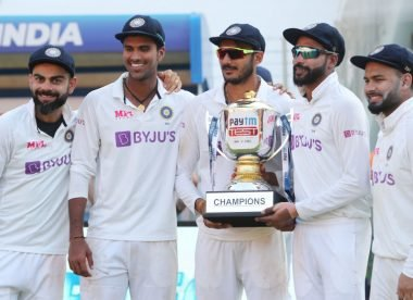 How many of India's fourth Test XI will actually play the WTC final?