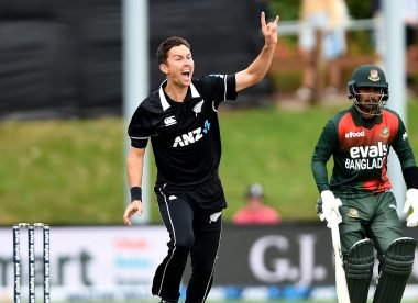 Watch: Trent Boult's perfect set up to dismiss Tamim Iqbal