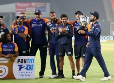 Wisden's India v England team of the T20I series
