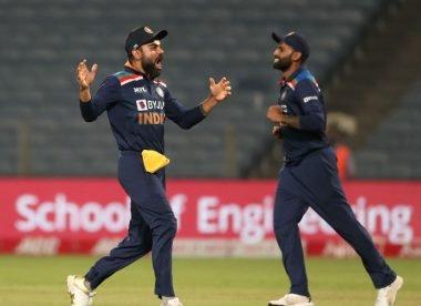 BCCI describe Kohli drop as a 'brilliant fielding effort' on own website
