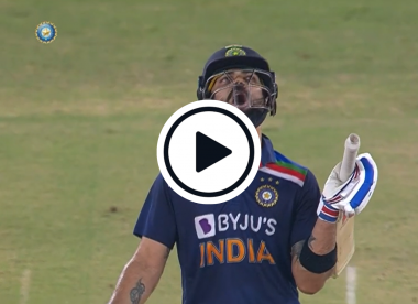 Watch: Virat Kohli's 'Wow wow wow' reaction to Hardik Pandya six