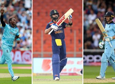 Wisden's India-England ODI combined XI