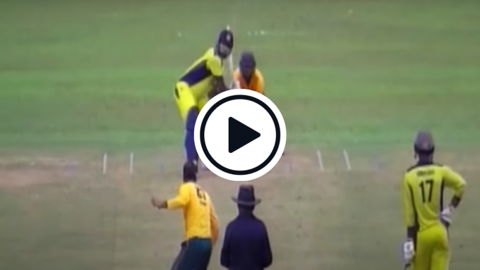 Watch: Thisara Perera hits six sixes in an over in 13-ball List A fifty