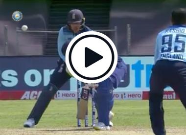 Watch: Adil Rashid deceives Rohit Sharma with ripping googly