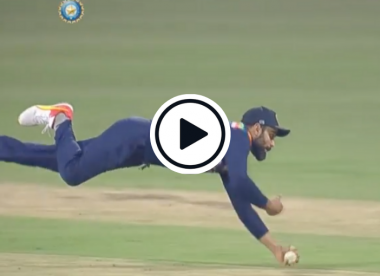 Watch: Virat Kohli takes spectacular one-handed diving catch