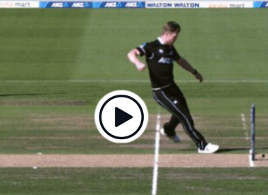 Watch Jimmy Neesham's football skills to run out Tamim Iqbal
