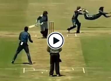 Watch: Slip fielder shows outrageous reflexes to complete leg-side catch