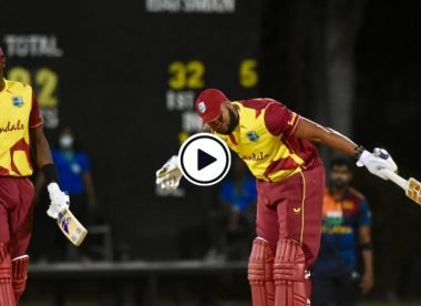 Watch: Kieron Pollard smacks six sixes in an over against hat-trick hero Akila Dananjaya
