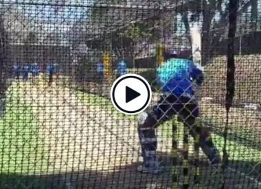 Practice makes perfect: Watch Pant cream reverse-lap in nets two years before Anderson marvel shot
