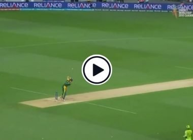 Watch: When AB de Villiers perfected the rare backfoot on-drive in a World Cup game