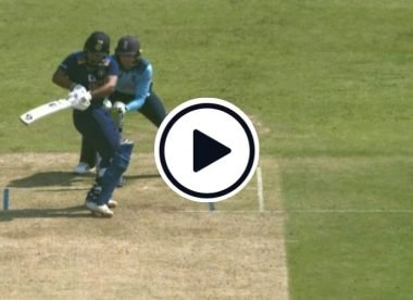 Watch: Rishabh Pant's ridiculous helicopter swing through square leg