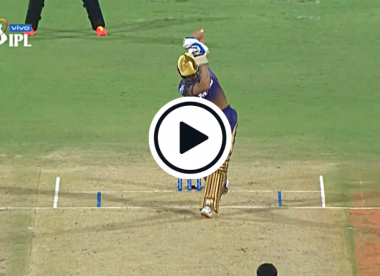 Watch: Shubman Gill smashes T Natarajan for glorious no-look six