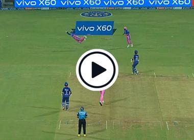 Watch: Super Sanju Samson flies to take stunning catch against Shikhar Dhawan