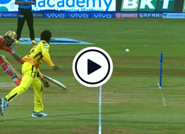Watch: Ravindra Jadeja unleashes bullet throw to effect one-stump run out